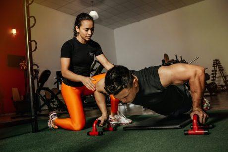 training upper body